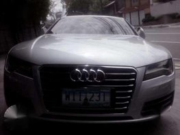 2013 Audi A7 3.0 Gas Silver For Sale