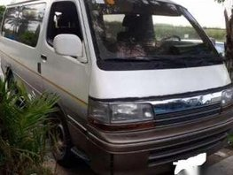 Toyota HiAce White AT1990 For Sale