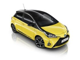 Shine with new Toyota Yaris Yellow Bi-Tone Edition this summer