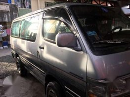 Toyota HiAce 4x4 3L 1990 MT Silver For Sale
