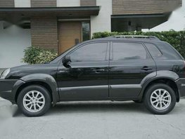 Hyundai Tucson 2005 4x4 AT Black For Sale