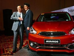 Mitsubishi PH to start local production of Mirage hatchback