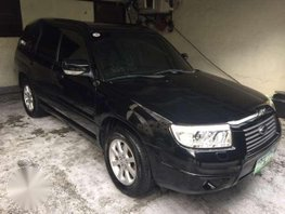 2006 Subaru Forester AWD AT Black For Sale
