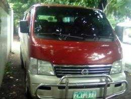 Nissan Urvan Estate 2008 MT Red For Sale