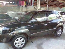 2005 Hyundai Tucson Matic 4x4 Black For Sale