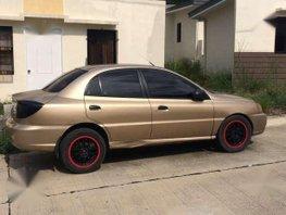 Kia Rio 2003 MT Golden Sedan For Sale