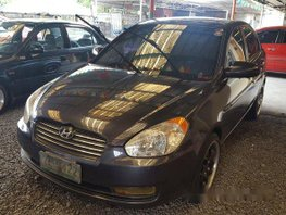Hyundai Accent 2006 sedan blue for sale