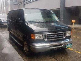 FORD E150 2006 AT Black Van For Sale