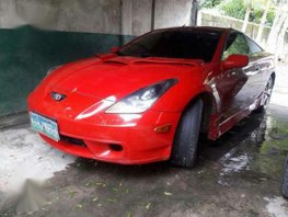 Toyota Celica 2000 MT Red Coupe For Sale
