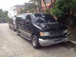 2003 Ford E-150 Van Chateau AT Black For Sale