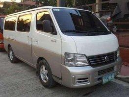 Nissan Urvan Estate 2008 MT White For Sale