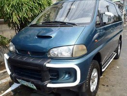 Mitsubishi Space Gear 2006 blue for sale
