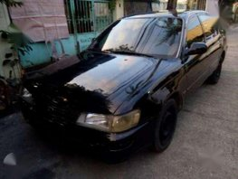 Toyota GLi sedan black for sale