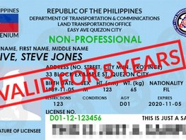 DOTr-LTO started issuing the 5-year validity of driver's license
