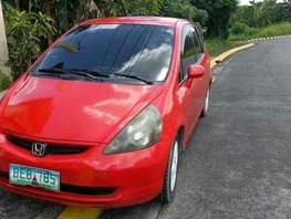 Honda Jazz 2002 AT Red HB For Sale