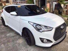 Hyundai Veloster Turbo 2016 White For Sale