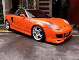 Toyota MR-S Sportcar 1.8 MT Orange For Sale