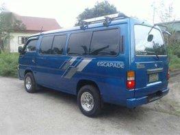 Nissan Urvan Escapade 2002 model Rush sale 308k Batangas area