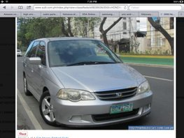 Honda Odyssey ORCR complete for sale