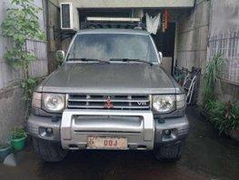 Mitsubishi Montero US VER 1998 AT Gray For Sale