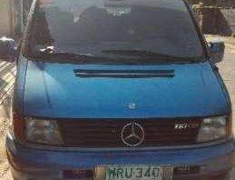 2000 Mercedes Vito L CDi-110 AT Blue For Sale