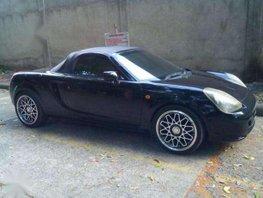 Toyota MR-S Spyder 1999 MT Black For Sale
