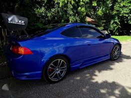 Blue Car Integra Honda 2003