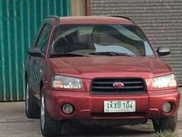 2003 Subaru Forester AWD MT Red For Sale