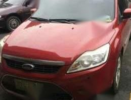 Ford Focus Diesel 2004 AT Red For Sale