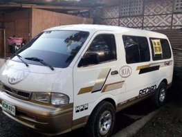 Fresh Kia Pregio Van 2002 MT White For Sale