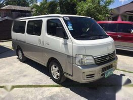 Very Fresh Condition 2012 Nissan Urvan Estate MT For Sale