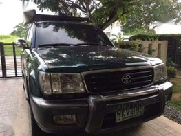 1999 Toyota Land Cruiser LC100 4x4 MT Green For Sale