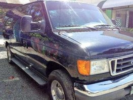 Ford E150 2007 Chateau Van Black For Sale