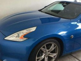 Nissan 370z Manual 2011 Blue Coupe For Sale