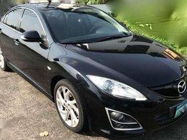 Fresh Mazda 6 AT 2012 Black Sedan For Sale