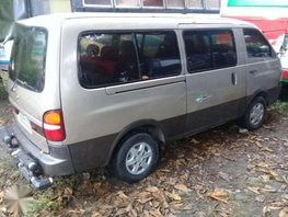 Kia Pregio Festival 2002 Van MT Silver For Sale