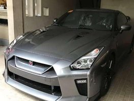 Almost New Nissan GTR 2017 Gray Coupe For Sale