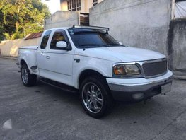 Ford F150 Lariat 4x4 2001 AT White Pickup For Sale