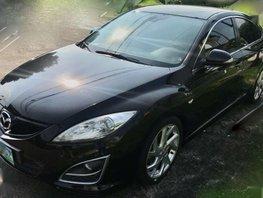 Mazda 6 AT 2012 Black Sedan For Sale