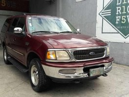1998 Ford Expedition 4x4 AT Red SUV For Sale