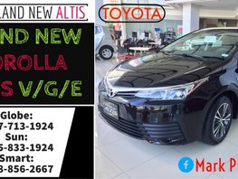 All-New 2019 Toyota Corolla Altis Sedan For Sale