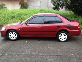 Honda City Type Z 2001 MT Red For Sale