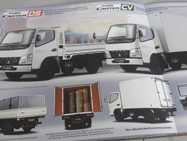 2018 Mitsubishi Canter euro 4 10ft 14ft 18ft for sale