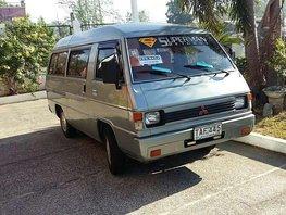 Mitsubishi L300 Versa Van Silver Van For Sale