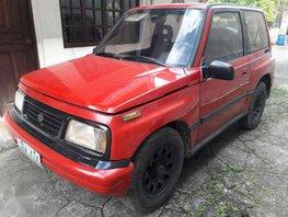2003 Suzuki Escudo 4x4 Manual Red For Sale