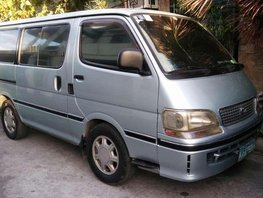 1998 Toyota Hiace GL diesel for sale