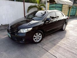 Toyota Corolla G Manual 2011 Black For Sale