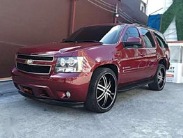 2008 Chevrolet Tahoe AT Red SUV For Sale