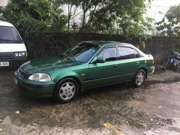 Honda Civic 1998 Matic Green Sedan For Sale