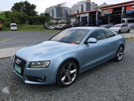 2009 Audi A5 BLUE FOR SALE